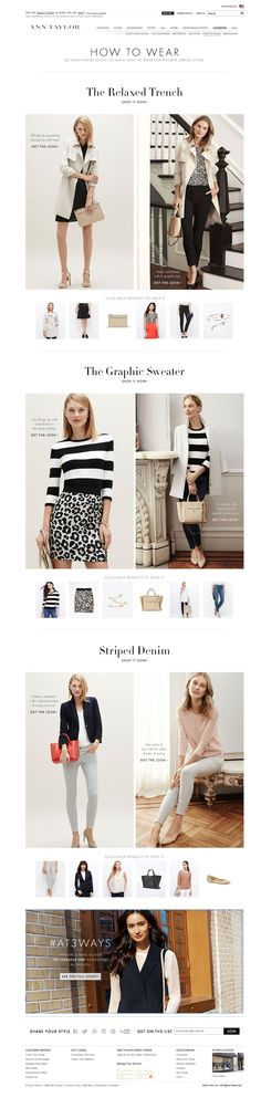 Ann Taylor How to Wear