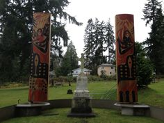 "Tombstone Tuesday: ""Chief Seattle's Grave"" and Suquamish Cemetery, Suquamish, Wa."