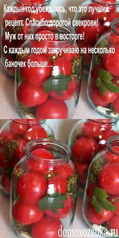 Diet Recipes, Vegan Recipes, Cooking Recipes, Konservierung Von Lebensmitteln, Pickled Tomatoes, Dehydrated Food, Russian Recipes, Recipe Of The Day, Food Photography