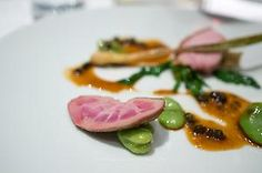 Review of a Meal at Up-Scale French Restaurant A Nu in Hiroo, Tokyo