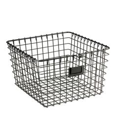 Loving this Medium Storage Basket on #zulily! #zulilyfinds