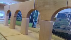 Viaducts display in our interactive environment