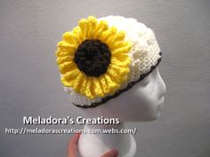 Crocheted Sunflower – Free Crochet Pattern