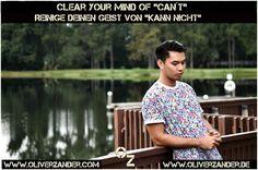 Clear your mind. Reinige deinen Geist.  #mind  #geist  #gehirn  #brain  #gedanken  #thinking  #water  #wasser  #man  #mann