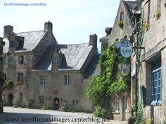 """Locronan dans le Finistère. Ce village fait partie des """"plus beaux villages de France""""."""