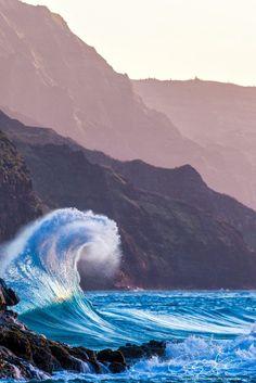 Where is your favourite place for #travel? www.digiwriting.com  Ke'e Beach Park ~ Hanalei, Kauai, Hawaii
