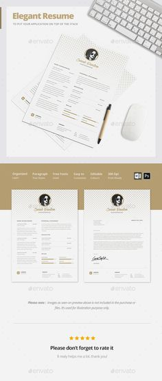 Resume Bundle 3 in 1 Cv template, Resume cv and Font logo - resume template download microsoft word
