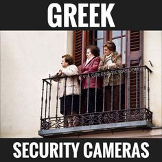 BW Outdoor Indoor Fake Dummy Imitation CCTV Security Camera with Blinking Flashing Light Bullet Shape Black Greek Memes, Funny Greek Quotes, Greek Sayings, Haha Funny, Funny Memes, Hilarious, Greek Language, Greek Culture, Greek Life