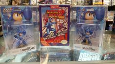 Back at the store and ready to add to our museum #MegaMan 2 signed by Legendary illustrator & designer Kenji Inafune