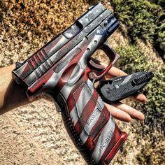 "Manufacturer: Springfield Armory Mod. XD9 ""Custom Cerakote"" Type - Tipo: Pistol…"