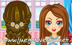 Presume de este #verano con tu #peinado mas chick y moderno #juegosdevestir   #juegosdepeinar    http://www.juegos-vestir.net/jugar/peinados-de-verano