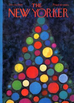 The New Yorker cover, December 20, 1969.