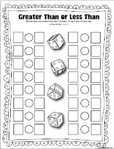 More FREE dice games! - The Lesson Plan Diva