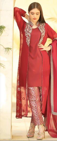 Pakistani Dresses, Indian Dresses, Indian Outfits, Ethnic Fashion, Indian Fashion, Simple Dresses, Beautiful Dresses, Salwar Designs, Dress Designs