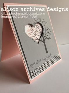 3D coeur  arbre - gris rose