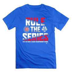 6366dfd8 QDYJM Men's Chicago Cubs 2015 Postseason Rule Series T-shirt - RoyalBlue |  Amazon.com
