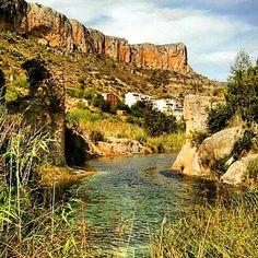 A quien le gusten las piscinas naturales Sot de Chera es ideal. #SotdeChera #Agua #Piscinas #Naturaleza by kikebm__78