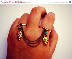 VALENTINES SALE arrowhead and turquoise double by alapopjewelry, $17.85