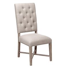 Rencourt Side Chair - White Wash | Dining-chairs | Dining-room | Furniture | Z Gallerie