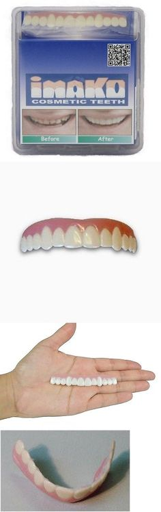 Other Oral Care: Cosmetic Upper Teeth Small Natural Instant Veneers Dental False Secure Smile New BUY IT NOW ONLY: $40.22