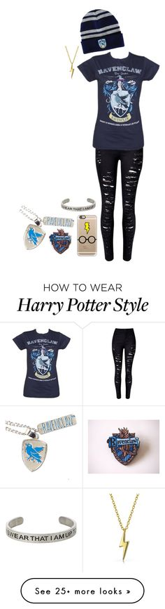 """""""Ravenclaw"""" by sprinkleofenchantment on Polyvore featuring Casetify and Bling Jewelry"""