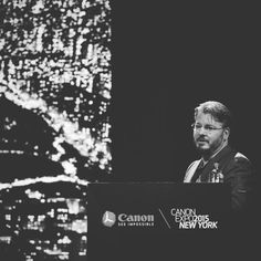 Also at the Canon Expo yesterday Vincent Laforet with his set of Laforet Air   #laforetair #canonexpony by saxophonestories