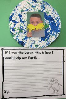 Great way to tie the Lorax into this lesson! It's a long book for the kids to sit for, but maybe many of them swathe movie