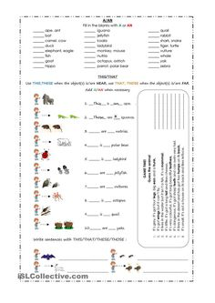 Demonstratives - THIS, THAT, THESE, THOSE worksheet - Free ESL ...