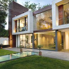 Дом Casa V в Мексике