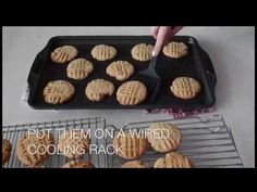 How bake Peanut Butter Cookies learn in just 4 minuet | Cookie tutorial | Homemade  cookie recipe