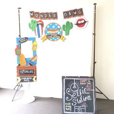 photo props hot dog party fast food america americana themed 4thjuly photo booth photo booth. Black Bedroom Furniture Sets. Home Design Ideas