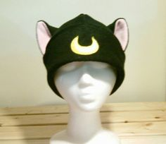 Hey, I found this really awesome Etsy listing at https://www.etsy.com/listing/197397674/luna-sailor-moon-cat-hat-luna-hat-luna