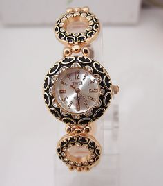 Wholesale Fashion Rose Gold Tone Watch Women Ladies Quartz Wrist Watch TW017-in Wristwatches from Watches on Aliexpress.com | Alibaba Group