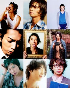 The many faces (and hairdos) of MatsuJun.
