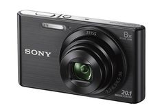 Buy Sony Cyber-shot DSC-W830 20.1 MP Point & Shoot Camera for Rs. 5,702 at Paytm + Cashback  Light on the pocket, this sleek Sony #CyberShot #camera keeps shaky blur to a minimum. The 20.1 MP CCD sensor and ZEISS lens with 8x optical zoom.