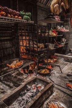 Cooking Torch, Fire Cooking, Grace Kitchen, Meat Store, Outdoor Cooking Area, Fish And Meat, Wood Fired Oven, Bbq Area, Summer Kitchen