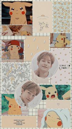 Chanyeol, Exo Kokobop, Exo Chen, Kpop Exo, Kyungsoo, Homescreen Wallpaper, Bts Wallpaper, Iphone Wallpaper, Pikachu