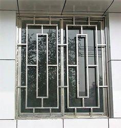 Steel Grill Design, Home Window Grill Design, Balcony Grill Design, Grill Door Design, Window Design, Door Grill, Iron Windows, Iron Doors, Windows And Doors