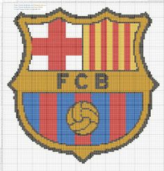 Barcelona Cross Stitch patterns Barcelona punto de cruz