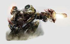 Iron Warriors Chaos Spacemarine