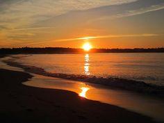 Sunrise at Pine Point Beach, Maine