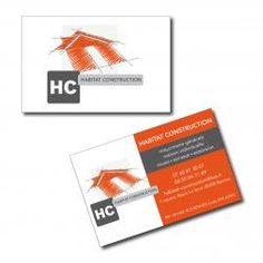 Cartes De Visite Maconnerie Habitat Construction