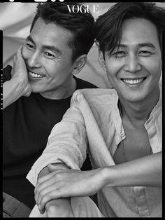 Jung Woo Sung | 정우성 | D.O.B 22/4/1973 (Taurus) x Lee Jung Jae | 이정재 | D.O.B 15/3/1973 (Pisces)