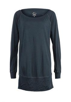Лонгслив Nike / Найк женская. Цвет: серый. Сезон: Осень-зима 2013/2014. С бесплатной доставкой и примеркой на Lamoda. http://j.mp/1zlIkzu