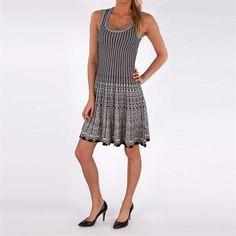Nic & Zoe Peek-a-Boo Twirl Dress #VonMaur #NicandZoe #Knit #FitandFlare