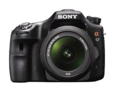 Sony Announces Alpha a57 DSLR