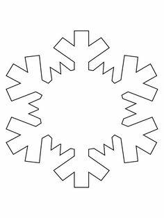 CHRISTMAS STENCIL : THE BIGBIG SNOWFLAKE