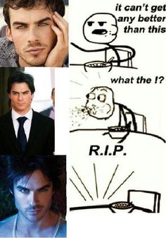 this was me the first time I watched vampire diaries