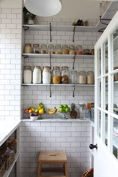 おしゃれなキッチン収納パントリーのある暮らしに憧れて
