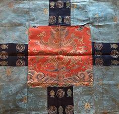 Sino-Tibetan Altar or Throne Cloth